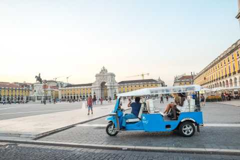 Lisbon by Tuk Tuk Guided Tour: City of Neighborhoods