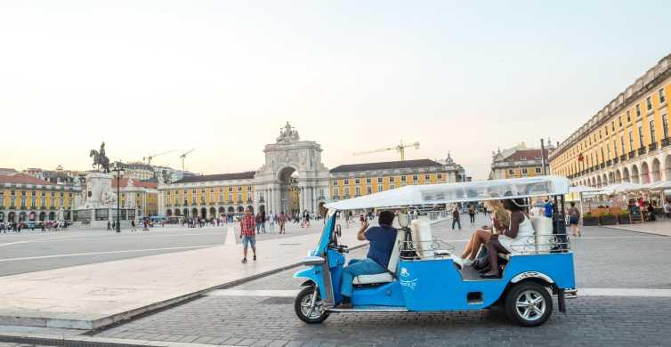 Lisbon by Tuk Tuk Guided Tour: City of Neighborhoods
