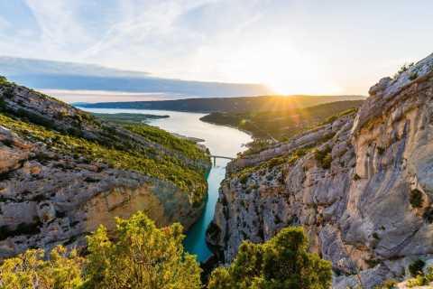 Ab Nizza: Europas Grand Canyon und seine Lavendelfelder