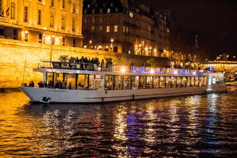 Paris: Lounge Dinner Cruise on the Seine River