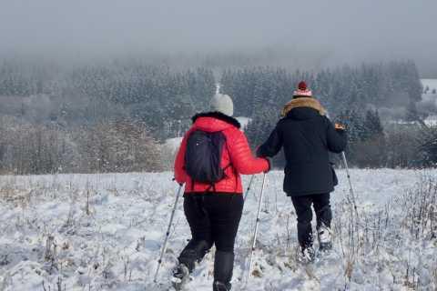 Raquetas de nieve Excursión a Neris Park y Kernave UNESCO
