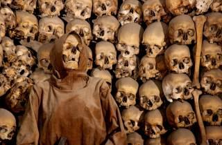 Rom: Krypten & Katakomben-Tour mit Besuch der Knochenkapelle
