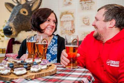 Riga: Essen und Bier Rundgang am Abend