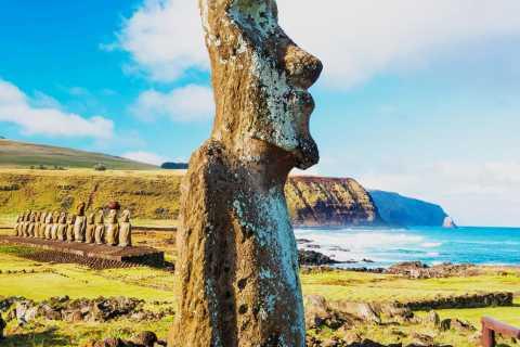 Excursão à Praia de Anakena e Cultura Perdida dos Rapa Nui