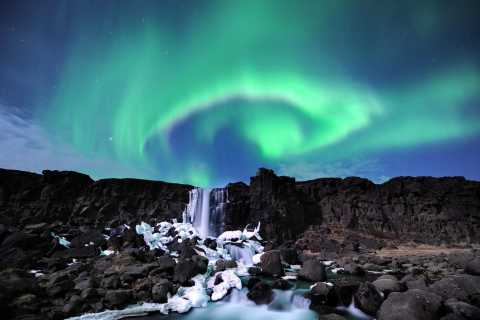 From Reykjavik: Golden Circle and Northern Lights Combo