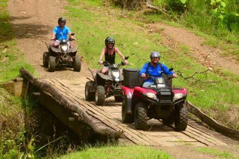 Quadbike and Canopy Tour From San Jose