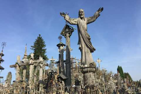 Route of John Paul II: Hill of Crosses, Tytuvenai & Siluva