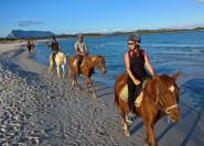 Ab Chia: Erkundungstour zu Pferde in Cagliari