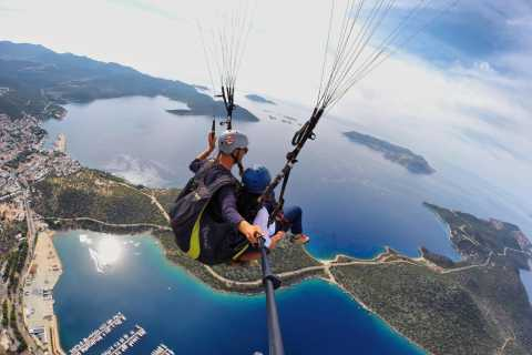 Tandem Paragliding Fly Over Lycia, Kas and Meis