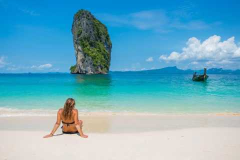 Krabi: 4 Islands Day Trip by Speedboat Including Lunch Box