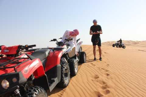Deserto di Dubai: avventura in quad e cena barbecue