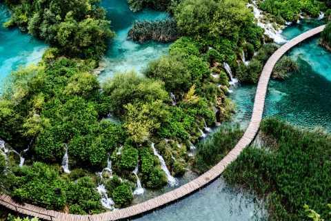 Depuis Split: visite libre des lacs de Plitvice