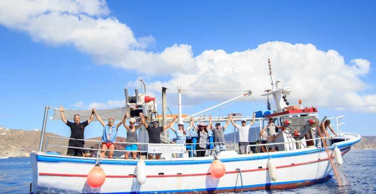 Santorini: Traditional Fishing Trip and Fresh Fish Lunch
