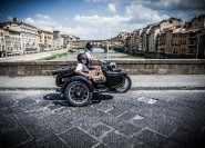 Florenz: Vintage Sidecar Tour am Morgen oder Sonnenuntergang