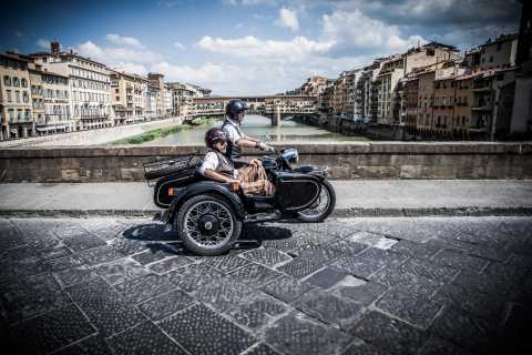 Florence: Vintage Sidecar Tour at Morning or Sunset