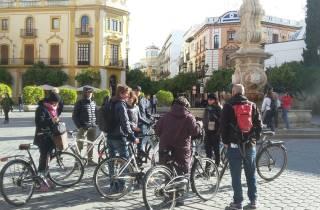 Geführte Radtour durch Sevilla