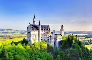 Ab München: Tagesausflug nach Neuschwanstein & Linderhof