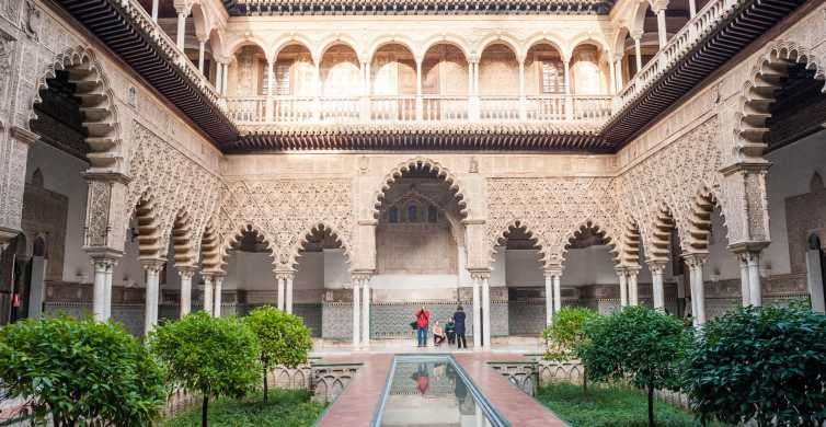 Seville: Cathedral & Alcazar Entrance With Guided Tour