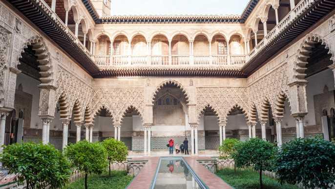 Sevilla: tour guiado sin colas por el Alcázar
