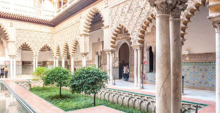 Sevilha: excursão guiada ao Alcazar e à catedral sem fila