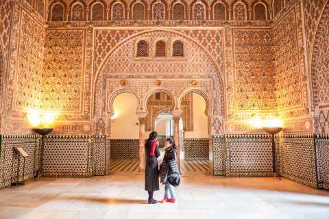 Siviglia: tour guidato di 1 ora e ingresso all'Alcázar