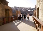 Kolosseum: Private Tour mit Zugang zur Arena ohne Anstehen