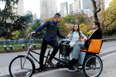 New York: Central Park Tour by Pedicab