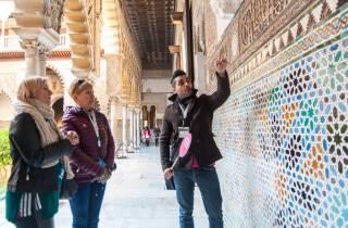 Sevilla: Führung Alcázar & Kathedrale (bevorzugter Einlass)