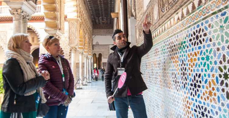 Seville: Alcázar and Cathedral Guided Tour & Priority Access