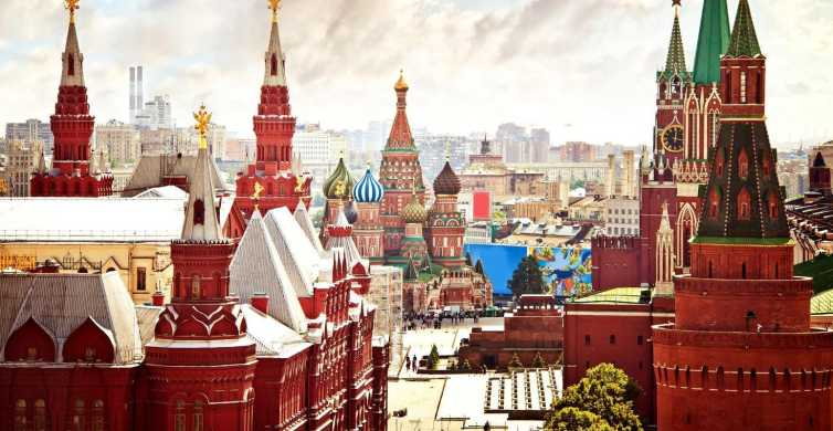 Moscow: Private Full–Day Walking Tour