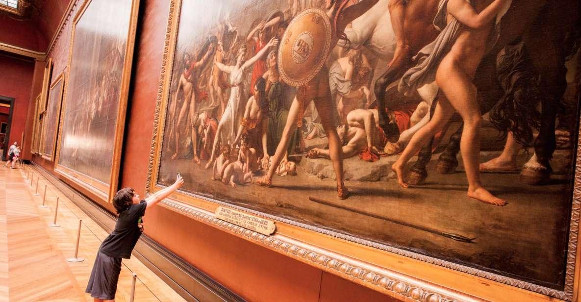 パリ:ルーヴル美術館 時刻指定入場チケット