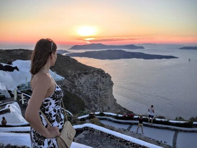 Noord-Santorini: privétour met Oia-zonsondergang en wijnproeverij