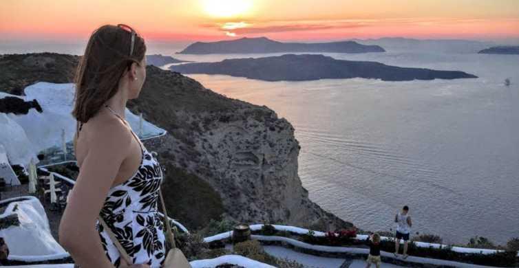 Nord-Santorin: Private Oia Sonnenuntergangs-Tour & Weinprobe