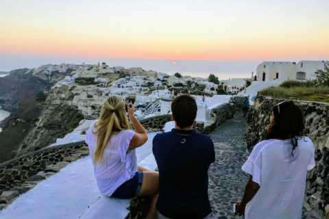 Santorini Small Group Tour with Wine Tasting