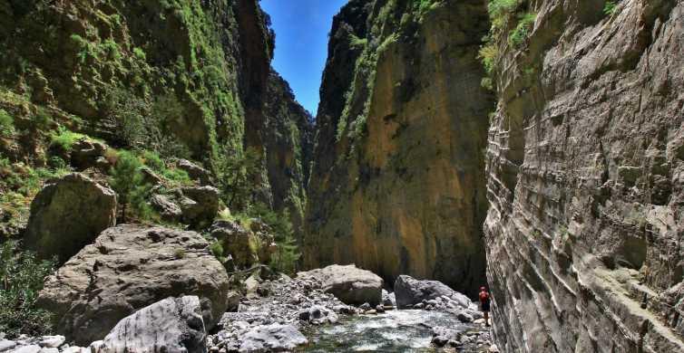 Gole di Samariá: trekking di 1 giorno da La Canea