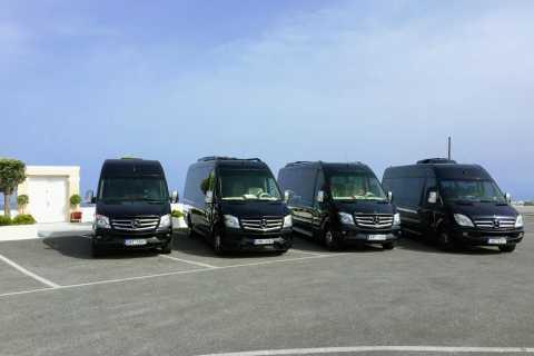 Servicios de transferencia de viaje privado de Santorini