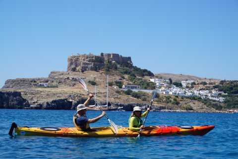Lindos & Rhodes: Full-Day Sea Kayaking