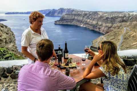Santorini: 4-Hour Small Group Wine Tasting Tour