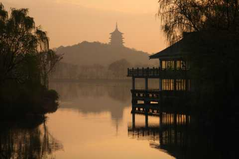 From Shanghai: Hangzhou, West Lake Cruise and Tea Plantation