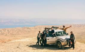 Desert Jeep Adventure from Jerusalem