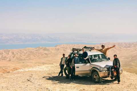 Desert Jeep Adventure from Jerusalem
