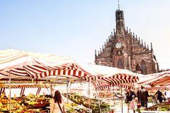 Nuremberg: passeio a pé culinário de 1,5 horas