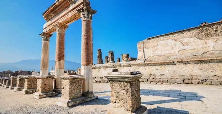 Pompeia: Excursão de Meio Dia saindo de Nápoles
