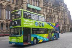 Manchester: Bilhete de 2 Dias para Ônibus Hop-On Hop-Off