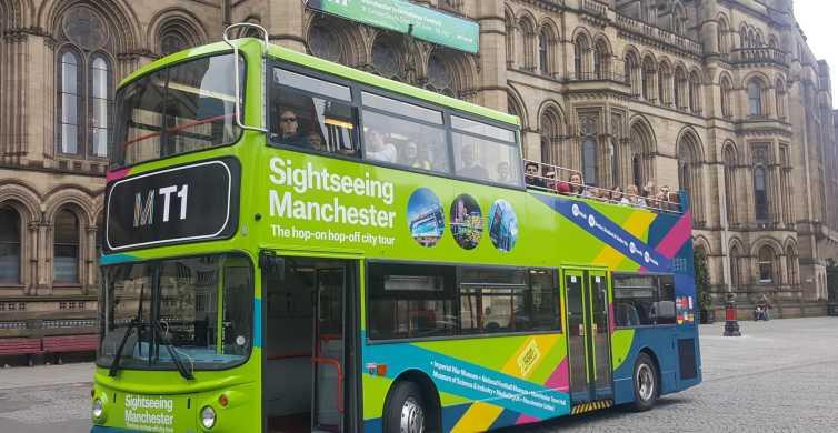 Manchester: tour da 2 giorni in autobus hop-on hop-off
