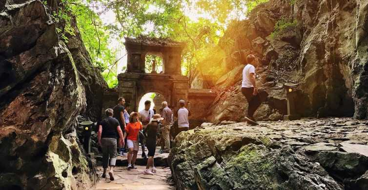 Marble Mountains and Linh Ung Pagoda Half-Day Tour