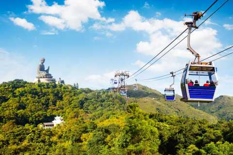 Lantau Island: Boat and NP360 Cable Car or Tai O Day Pass