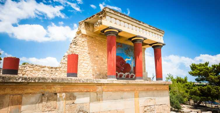 From Rethymno: Full-Day Knossos and Heraklion Tour