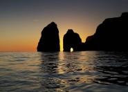 Ab Sorrent: Capri-Bootstour am Tag und Abend