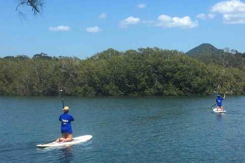 Byron Bay: 2,5-stündige Stand Up Paddle Board-Lektion
